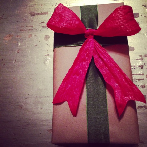 Simple, but beautiful wrapping - the ArtfuLife