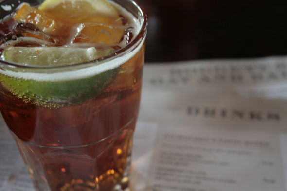 Pimm's Cup from London
