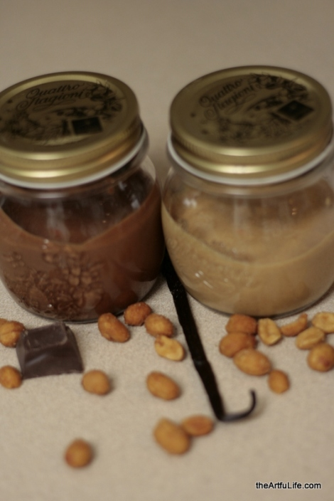 Homemade Peanut Butter on theartfulife.com